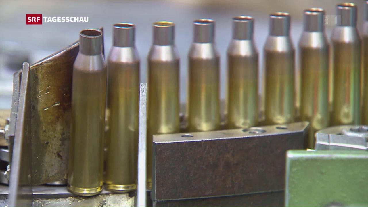 Der Waffenhandel floriert