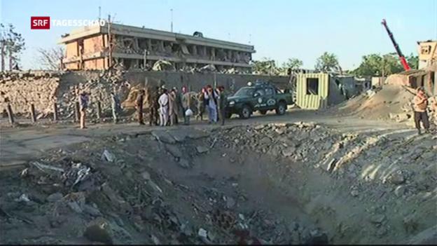 Video «Folgenschwerer Anschlag in Kabul» abspielen