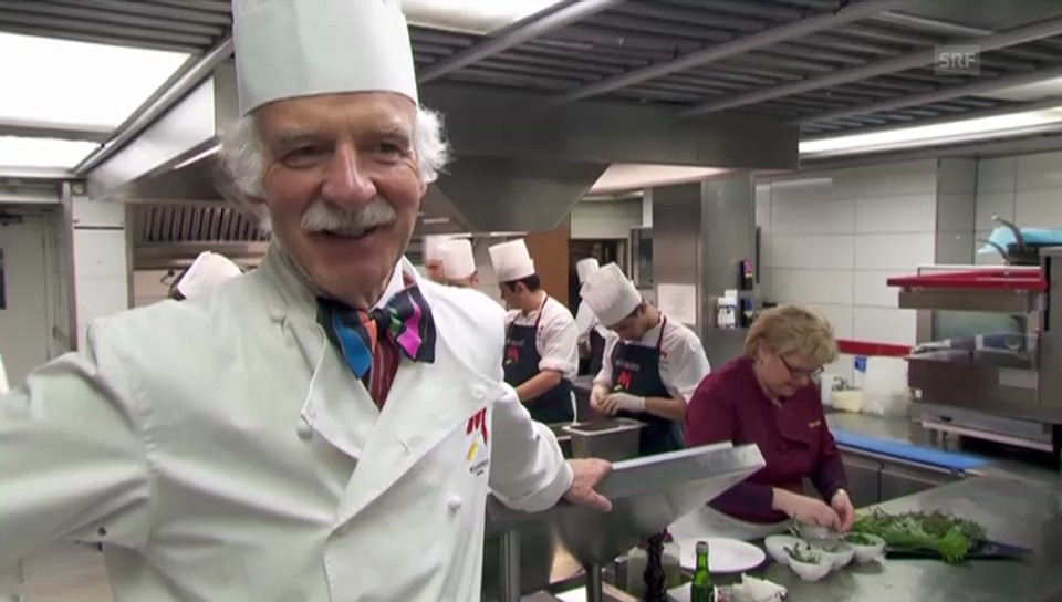 Anton Mosimann: «Prinz Charles isst am liebsten bio»