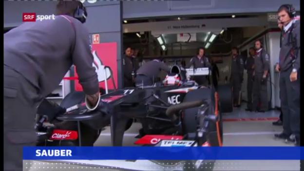Video «F1: Sauber dementiert» abspielen