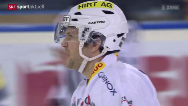 Video «Eishockey: Zug-Biel» abspielen