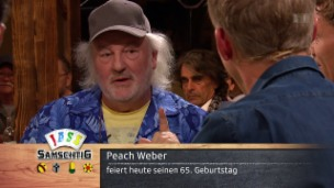 Video «Ein spannender Rück- und Ausblick mit Peach Weber» abspielen