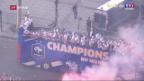 Video «Frankreich tut sich mit der Herkunft seiner Weltmeister schwer» abspielen