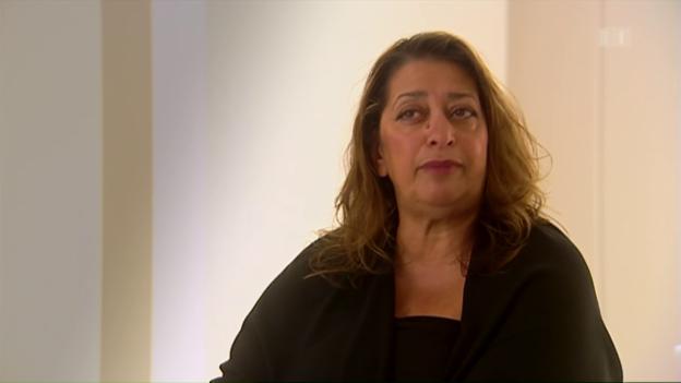 Video «Die Architektin Zaha Hadid – Löwin unter Löwen» abspielen