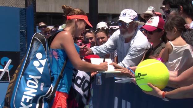 Video «Tennis: WTA, Belinda Bencic, das Jahr der Bestätigung» abspielen