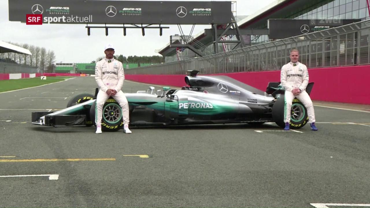 Mercedes enthüllt neuen Boliden