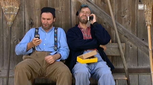 Kevin und Pesche - Handy