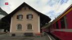Video «Neuer Bahnhof in Lavin/GR» abspielen