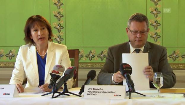 Video «Vollständige BKW-Pressekonferenz zur Abschaltung Mühlebergs» abspielen