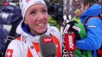 Video «Aufholjagd: Selina Gasparin wird in Antholz Zweite» abspielen