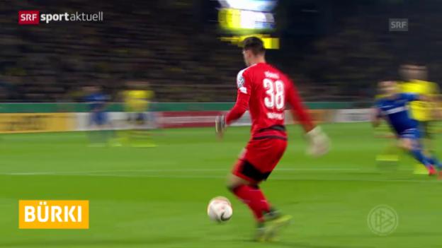 Video «Fussball: DFB-Pokal, 2. Runde, Dortmund - Paderborn» abspielen