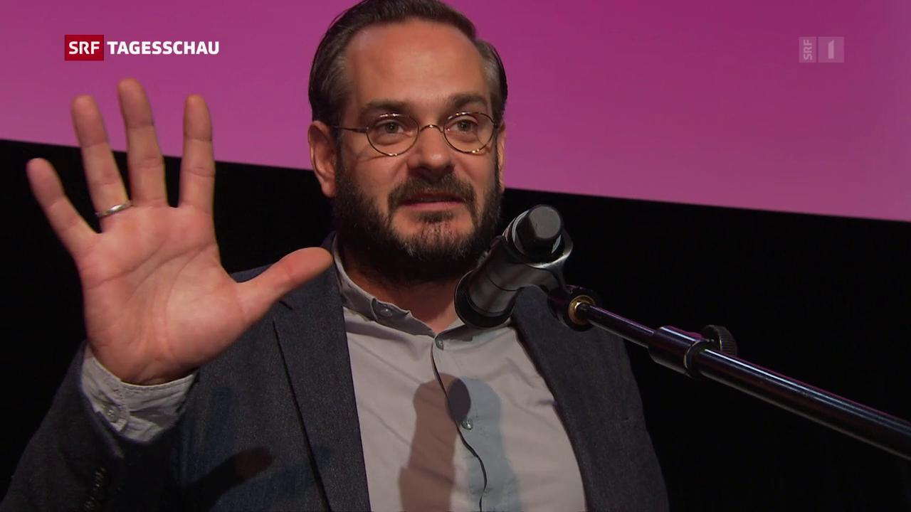 Jonas Lüscher erhält Schweizer Buchpreis