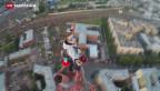 Video «Gefährliches Sightseeing in St. Petersburg» abspielen