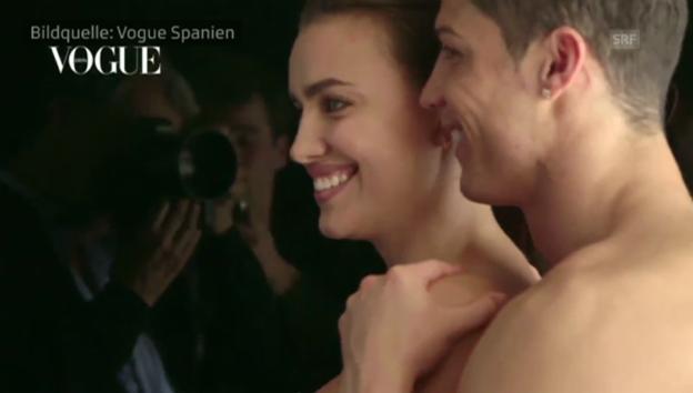 Video «Cristiano Ronaldo mit Freundin Irina beim Fotoshooting» abspielen
