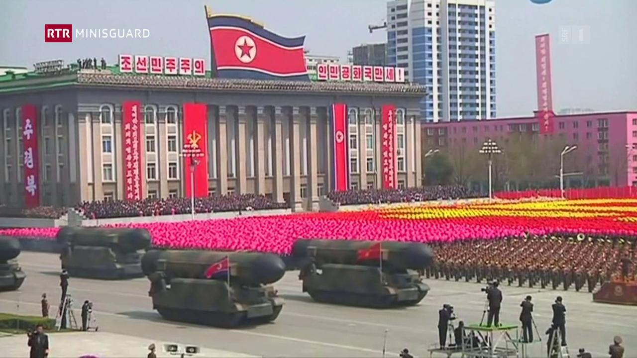 Ils tests da la Corea dal nord