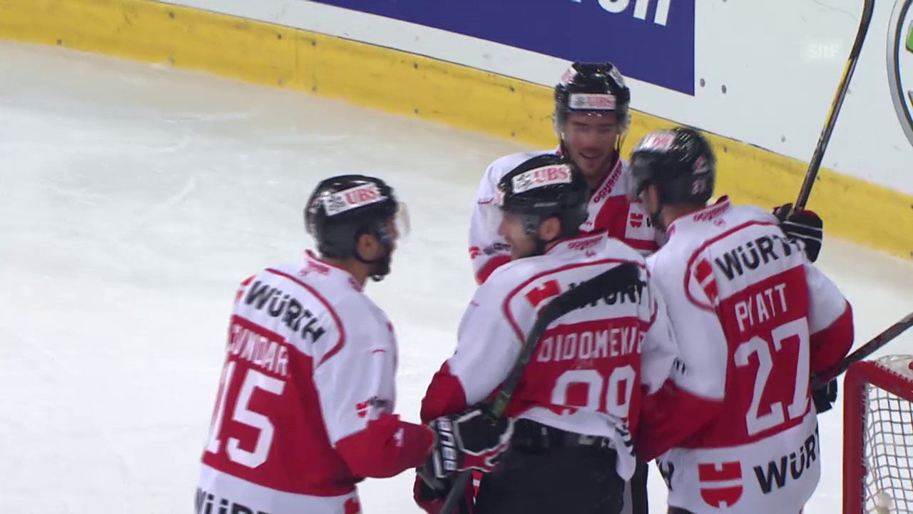 Eishockey: Spengler Cup 2015, Team Canada-Davos, 2:0 DiDomenico