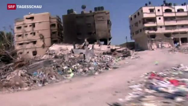 Video «Feuerpause in Gaza gebrochen» abspielen