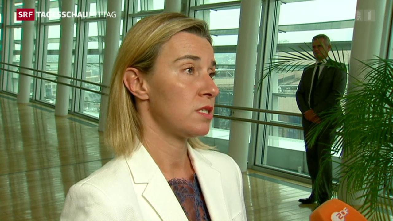 Mogherini: Probleme an EU-Aussengrenzen im Fokus