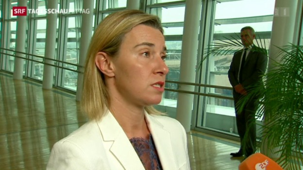 Video «Mogherini: Probleme an EU-Aussengrenzen im Fokus» abspielen