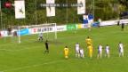 Video «Fussball: Terre Sainte - Luzern» abspielen