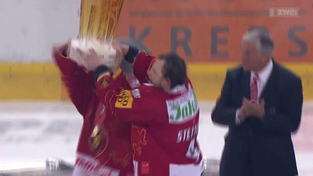 Video «Eishockey: NLB, 7. Playoff-Final, Langnau - Olten» abspielen