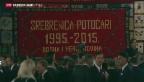 Video «Gedenken an Massaker in Srebrenica» abspielen