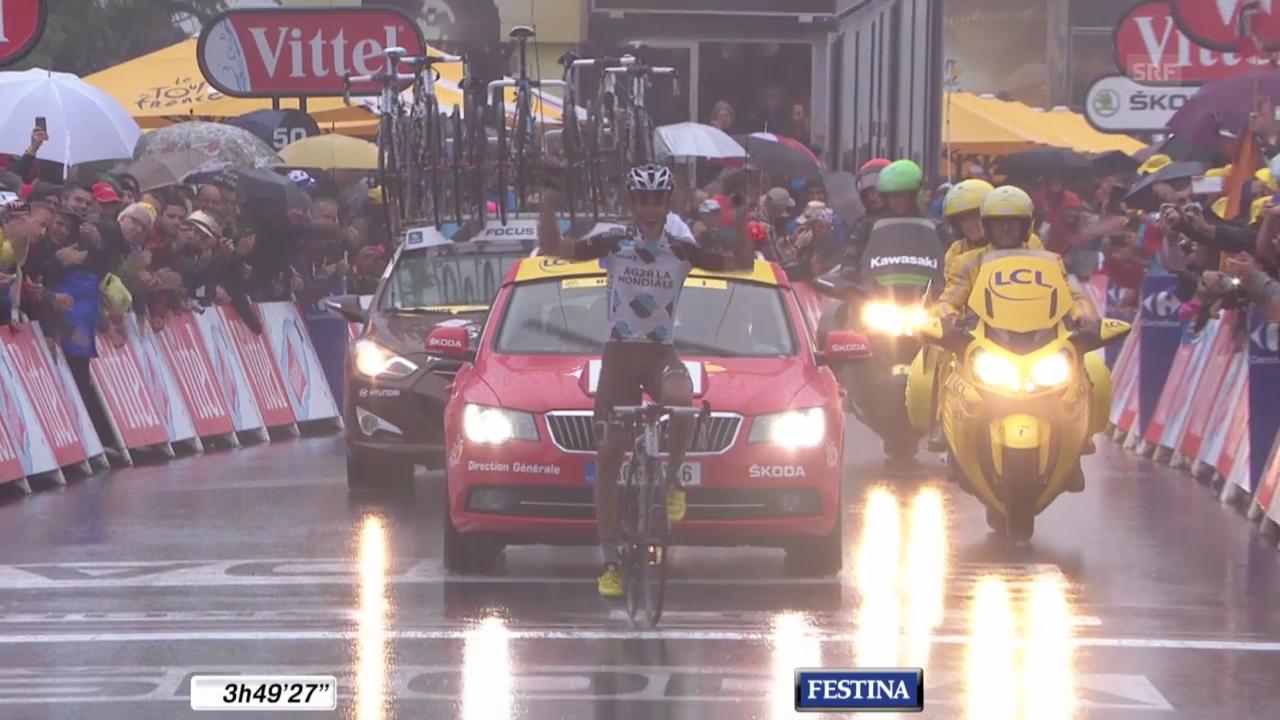 Tour de France: Zieleinfahrt 8. Etappe