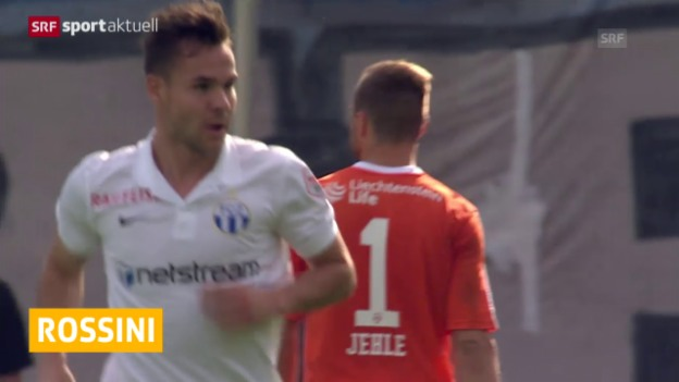 Video «Fussball: FCZ stellt Rossini frei» abspielen