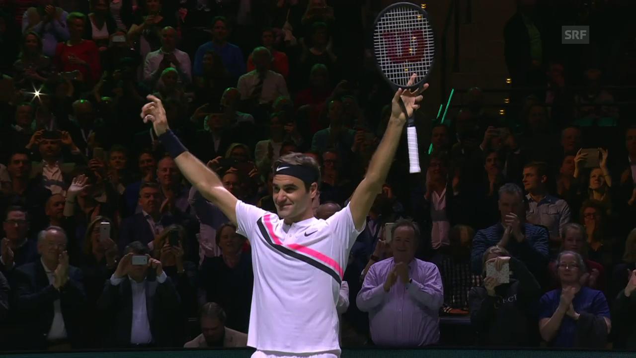 Federer besiegt Haase und wird die Nummer 1