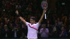 Link öffnet eine Lightbox. Video Federer besiegt Haase und wird die Nummer 1 abspielen