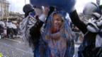 Video «Mit «G&G»-Moderatorin Jennifer Bosshard an der Basler Fasnacht» abspielen