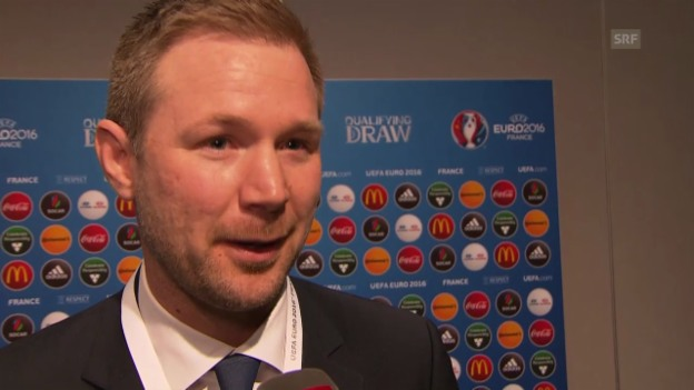 Video «Fussball: Interview mit Estland-Coach Magnus Pehrsson» abspielen