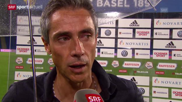 Video «Fussball: Super League, Basel - Zürich, Stimmen zum Spiel» abspielen