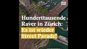 Video «So entstand die Zürcher Street Parade» abspielen