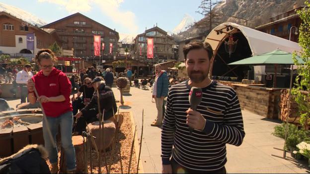 Video ««Glanz & Gloria Spezial» vom Zermatt Unplugged» abspielen