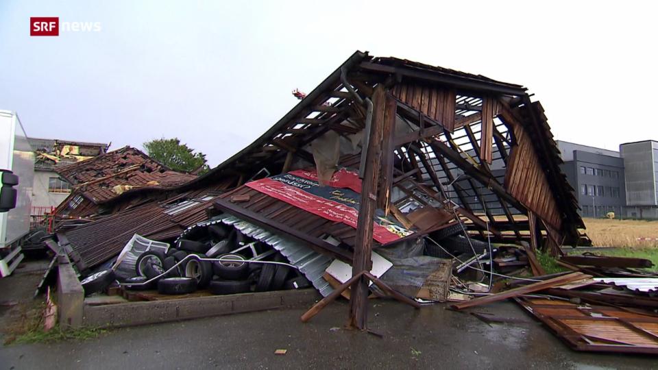 Unwetter hinterlässt im Kanton Zürich grosse Verwüstungen