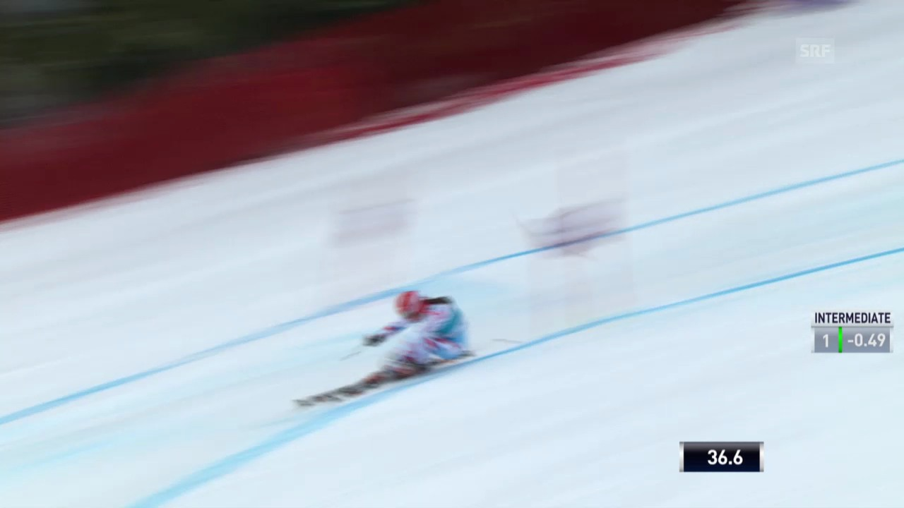 Ski Alpin: Riesenslalom auf der Lenzerheide, Der 1. Lauf von Anemone Marmottan («sportlive», 16.03.2014)