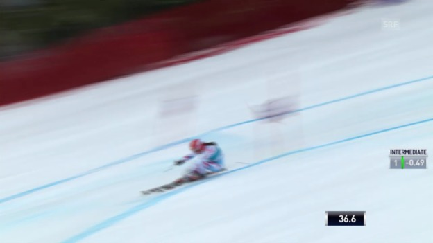 Video «Ski Alpin: Riesenslalom auf der Lenzerheide, Der 1. Lauf von Anemone Marmottan («sportlive», 16.03.2014)» abspielen