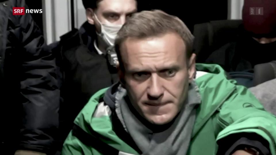 Ein Jahr nach dem Anschlag auf Alexej Nawalny