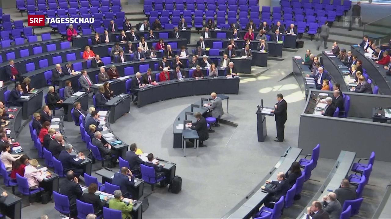 Die SPD-Kabinettsmitglieder in Deutschland