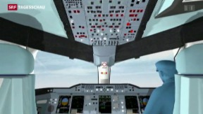 Video «Germanwings: Co-Pilot probte Sinkflug» abspielen