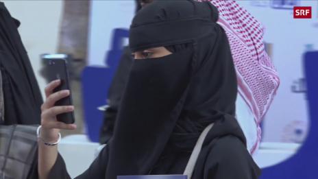 Link öffnet eine Lightbox. Video Saudi-Arabiens rasanter Wandel abspielen