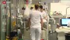 Video «Spitalbetten als Mangelware» abspielen