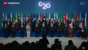 Video «G-20-Gipfel im Bann der Ukraine-Krise» abspielen