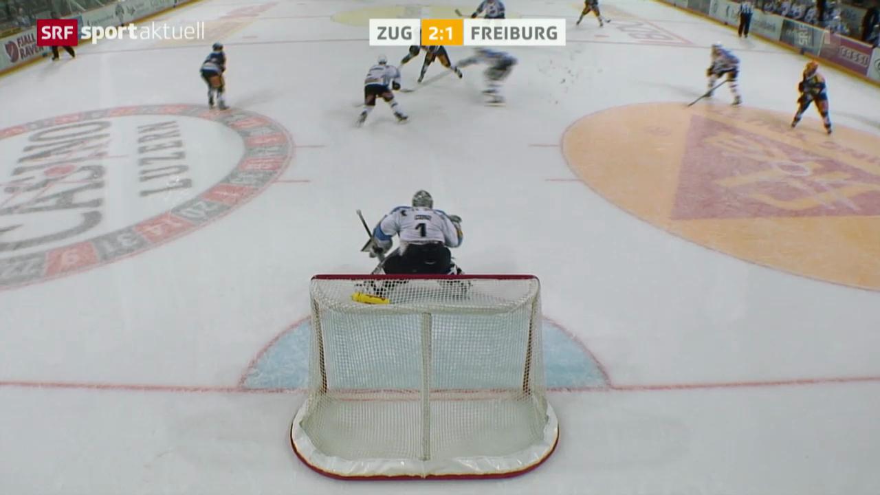 Eishockey: NLA, Zug - Freiburg