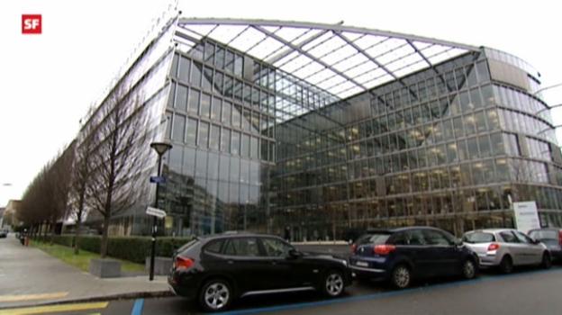 Video «Forschungszentrum in Genf» abspielen