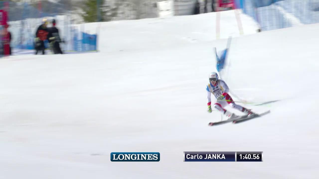 Der 2. Lauf von Carlo Janka