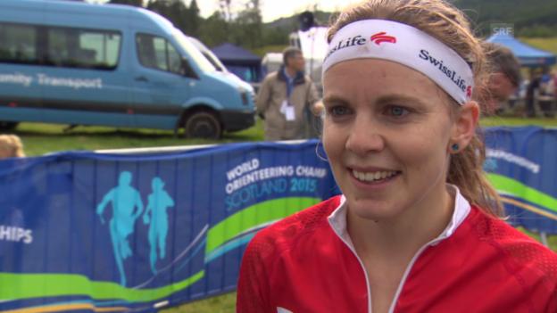 Video «OL: WM in Inverness, Interview mit Sarah Lüscher» abspielen