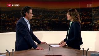 Video «FOKUS: Studio-Gespräch mit Zukunftsforscher Georges Roos» abspielen