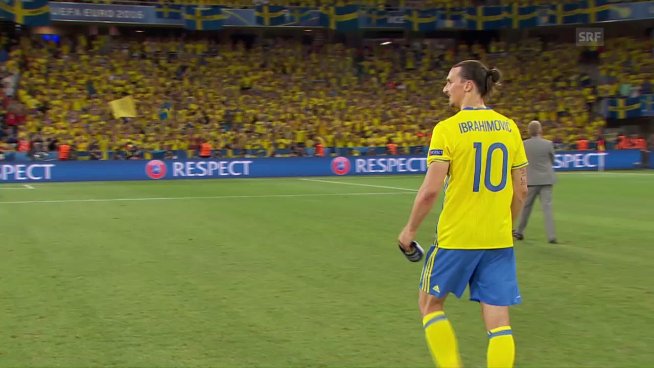 Belgier beenden Ibrahimovics Nati-Karriere